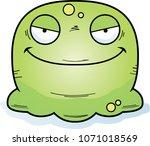 a cartoon illustration of an... | Shutterstock .eps vector #1071018569
