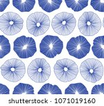 hand drawn abstract pattern... | Shutterstock .eps vector #1071019160