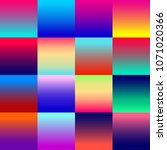 set of 16 web gradients for ui...