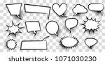 announces sketch idea...   Shutterstock .eps vector #1071030230