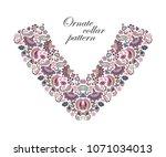 vector design for collar shirts ...   Shutterstock .eps vector #1071034013