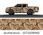 modern camouflage design for...   Shutterstock .eps vector #1071038960