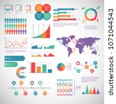infographic elements pack  | Shutterstock .eps vector #1071044543