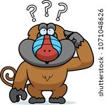 a cartoon illustration of a... | Shutterstock .eps vector #1071048626
