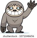 a cartoon illustration of a... | Shutterstock .eps vector #1071048656