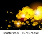 orange abstract template for... | Shutterstock . vector #1071076550
