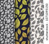 vector pattern  repeating... | Shutterstock .eps vector #1071095150
