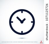 time vector icon  stock vector... | Shutterstock .eps vector #1071125726