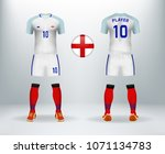 3d realistic of font and back... | Shutterstock .eps vector #1071134783