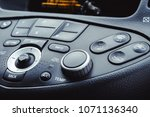 car air conditioning control... | Shutterstock . vector #1071136340