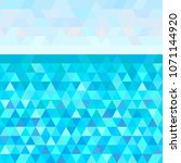 seamless triangle pattern.... | Shutterstock . vector #1071144920