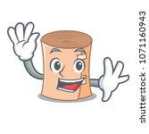 waving medical gauze character... | Shutterstock .eps vector #1071160943
