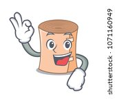 okay medical gauze character... | Shutterstock .eps vector #1071160949