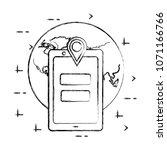 social media card   Shutterstock .eps vector #1071166766