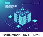 data networking  bigdata... | Shutterstock .eps vector #1071171398