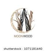 Vector Wood Logo Design...