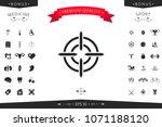 aim icon symbol   Shutterstock .eps vector #1071188120