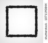 black drawing of framework in... | Shutterstock .eps vector #1071190844