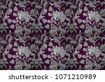 raster seamless pattern with... | Shutterstock . vector #1071210989