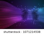 data connection speed line.... | Shutterstock .eps vector #1071214538