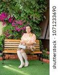women wear thailand national...   Shutterstock . vector #1071233690