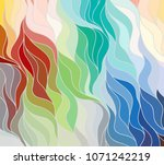 abstract vector color... | Shutterstock .eps vector #1071242219