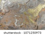 marble abstract acrylic... | Shutterstock . vector #1071250973