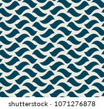seamless pattern with waved... | Shutterstock .eps vector #1071276878