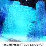 abstract stain  painting.... | Shutterstock . vector #1071277940