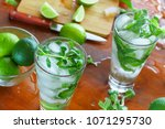 process of preparing a home... | Shutterstock . vector #1071295730