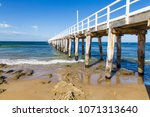 point lonsdale beach in... | Shutterstock . vector #1071313640