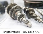 high precision hot forging and... | Shutterstock . vector #1071315773