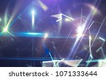blue abstract background... | Shutterstock . vector #1071333644
