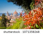 Stock photo florence dome italy 1071358268