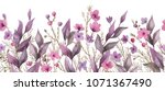 botanical decor. botanical... | Shutterstock . vector #1071367490