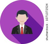 business man icon | Shutterstock .eps vector #1071372524