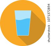 water glasses icon | Shutterstock .eps vector #1071372854