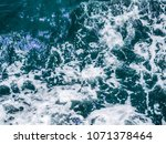 sea waves for editorial or... | Shutterstock . vector #1071378464