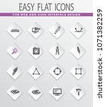 design flat vector icons for...