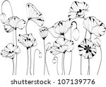 floral background | Shutterstock .eps vector #107139776