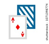 playing card illustration  ... | Shutterstock .eps vector #1071398774