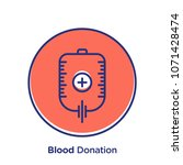 donation related offset style... | Shutterstock .eps vector #1071428474