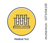 medical related offset style... | Shutterstock .eps vector #1071436130