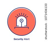 security related offset style... | Shutterstock .eps vector #1071436133