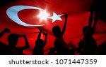 istanbul   turkey   16 may 2004 ... | Shutterstock . vector #1071447359