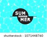 vector illustration of shiny... | Shutterstock .eps vector #1071448760