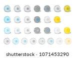 cardano  ada  coin cartoon...   Shutterstock .eps vector #1071453290