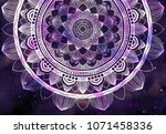 Abstract Ancient Geometric Wit...