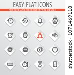 time vector icons for user... | Shutterstock .eps vector #1071469118