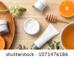 beautiful composition with... | Shutterstock . vector #1071476186